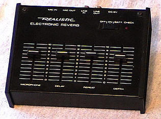 Realistic 32-1110 electronic reverb 1987-1988