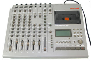 Tascam 464 four track recorder 1991-1992